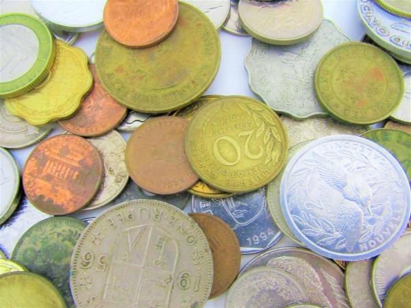 硬貨 古銭 いろいろおまとめ 日本 世界 アメリカ フランス アルゼンチン メキシコ ペルー ブラジル 香港 マレーシア 等 約2.6㎏_画像7