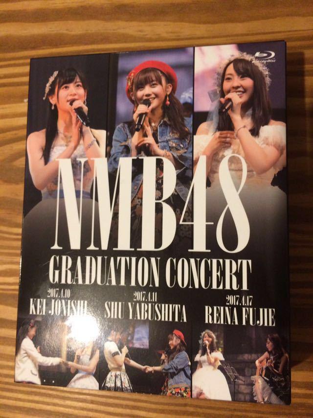 NMB48 GRADUATION CONCERT 薮下柊 藤江れいな 上西恵 Blu-rayブルーレイ