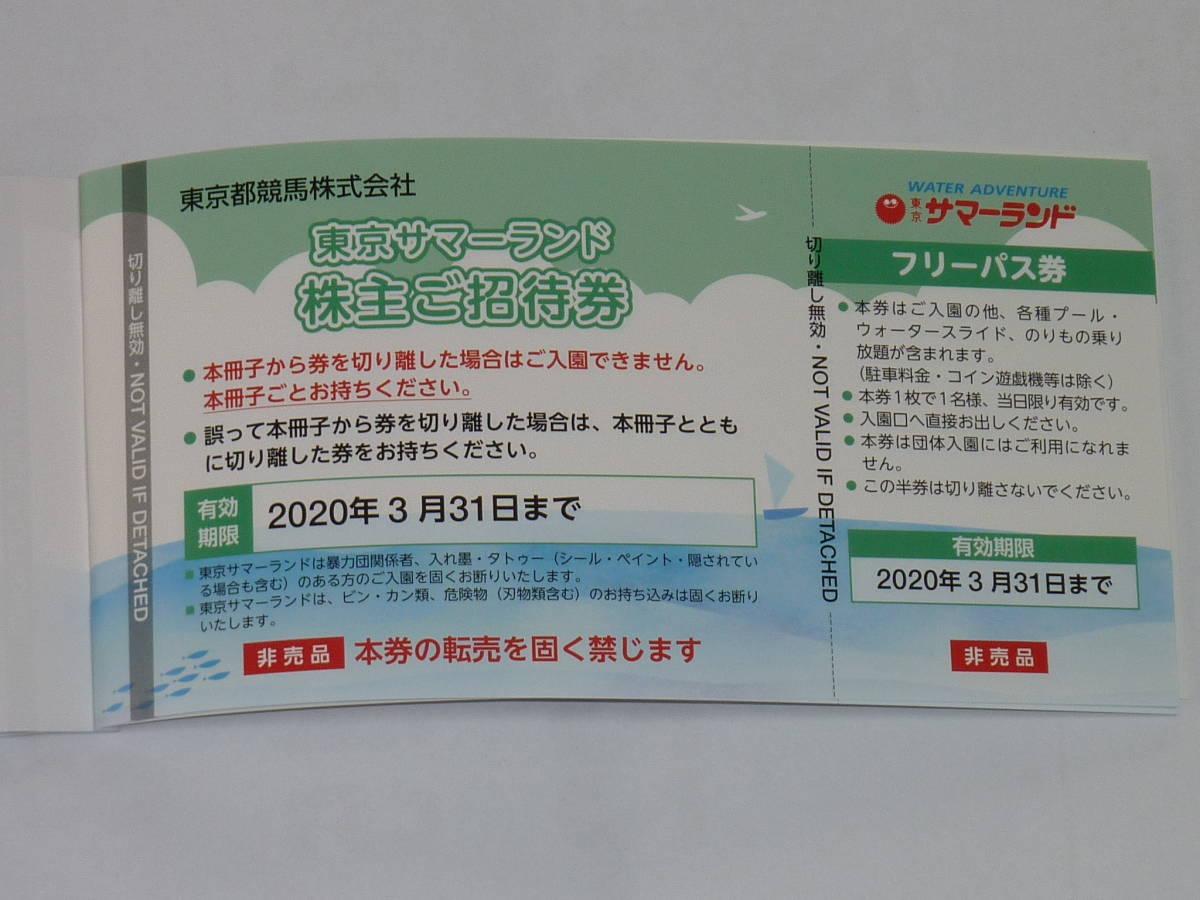 東京サマーランドフリーパス券10枚セット_画像4