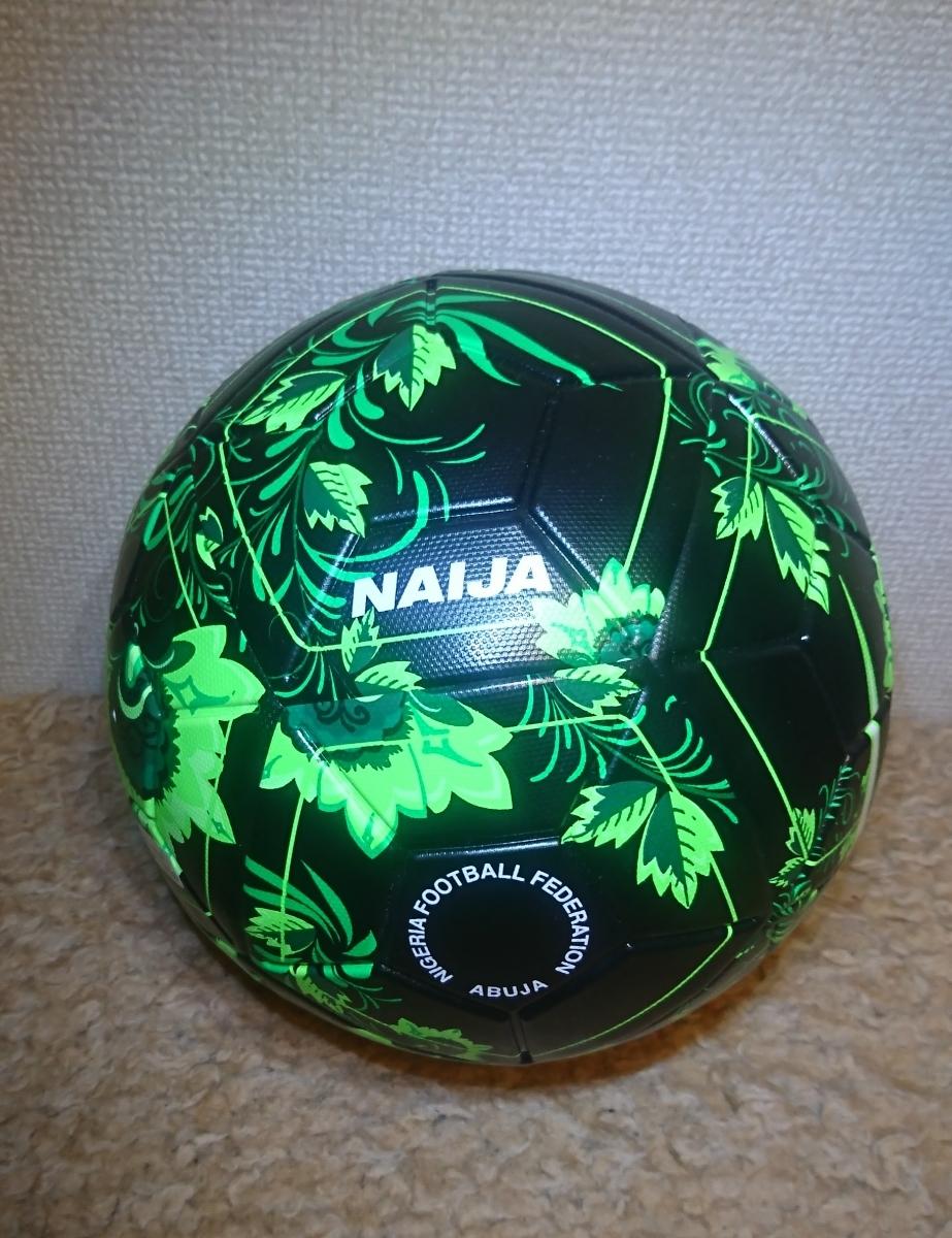 NIKE NAIJA 5号球 サッカーボール MAGIA ナイキ ナイジャ マジア 2018 FIFA ワールドカップ ナイジェリア 公式グッズ MAGIA_画像2