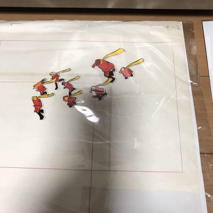 石ノ森章太郎 サイボーグ009 セル画 セット 連番 現状品_画像2