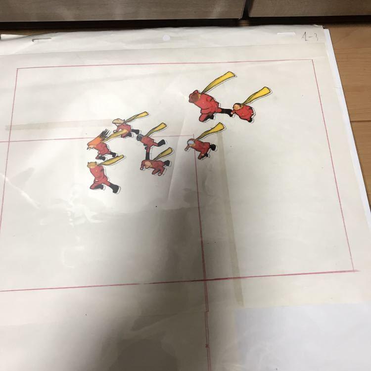 石ノ森章太郎 サイボーグ009 セル画 セット 連番 現状品_画像3