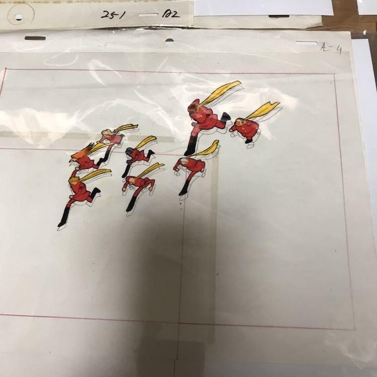 石ノ森章太郎 サイボーグ009 セル画 セット 連番 現状品_画像4