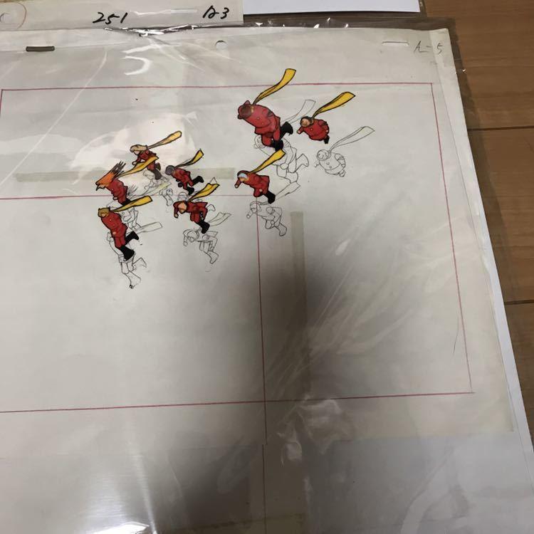 石ノ森章太郎 サイボーグ009 セル画 セット 連番 現状品_画像5