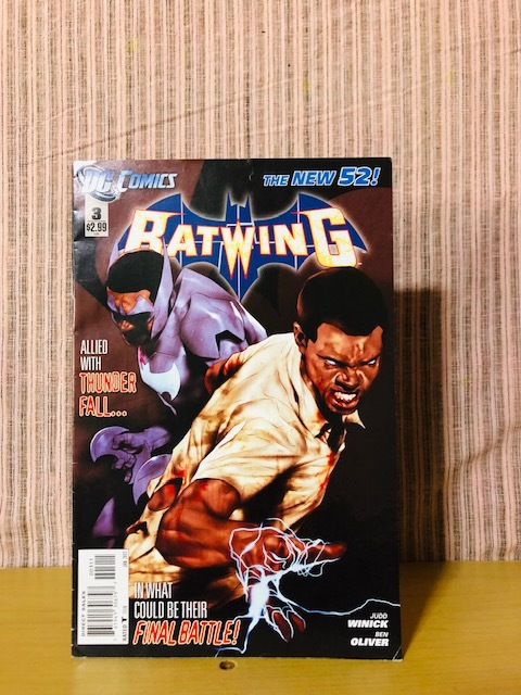 即決 アメコミ 希少 洋書 DC COMICS 2012年 【 BATWING 】 バットマン バットウィング ゴッサム・シティ ジョーカー  _画像1