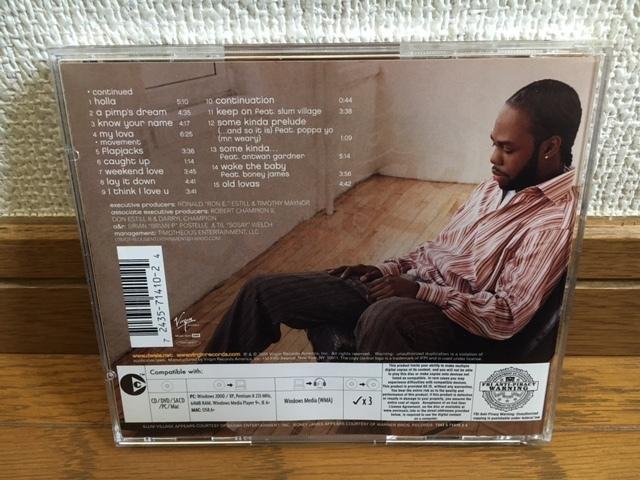 Dwele / some kinda ネオソウル R&B 名盤 輸入盤 廃盤 J Dilla / Mike City / G-1 / Slum Village / Jay Dee / R kelly / D'Angelo / Maysa_画像2