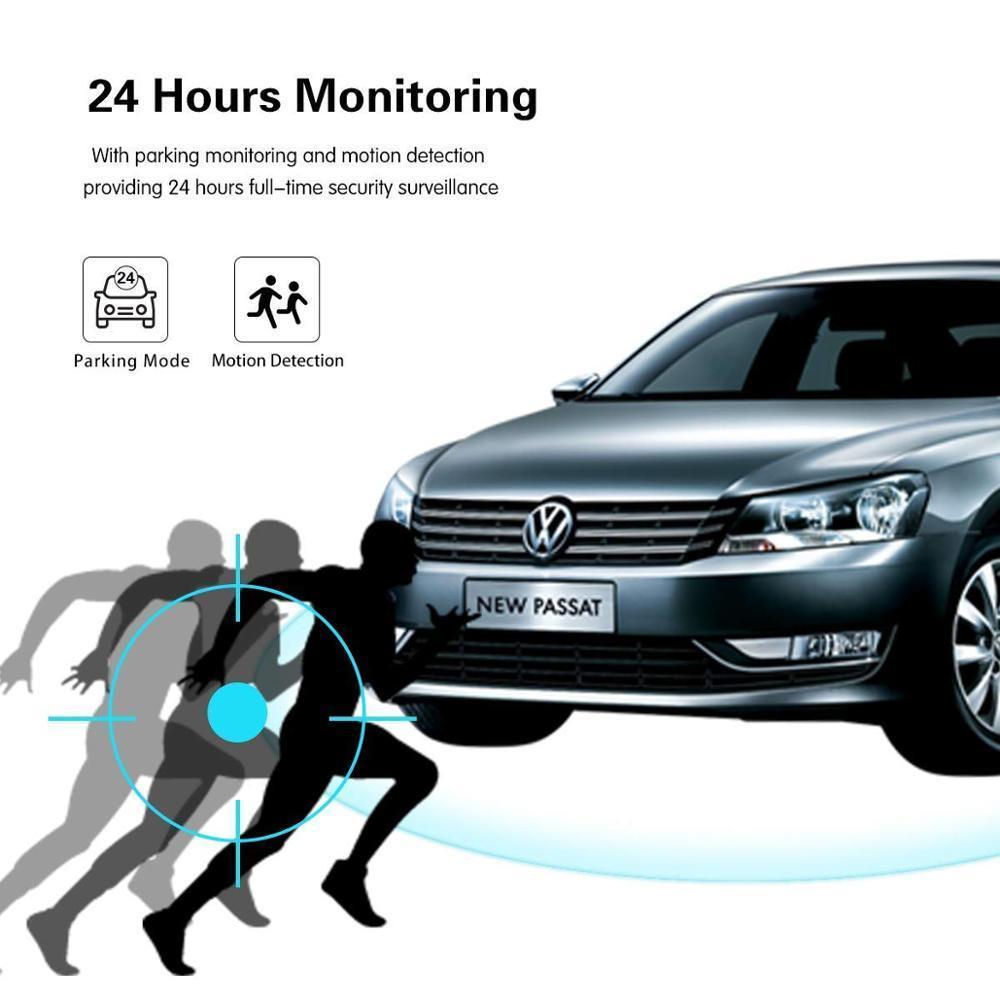 2019版 GPS/ADAS/WDR/4K! 対応 高画質 広角170° ミニ ドラレコ 搭載 ドライブ レコーダー 衝撃録画 常時録画 駐車監視 動体検知 3インチ_画像6