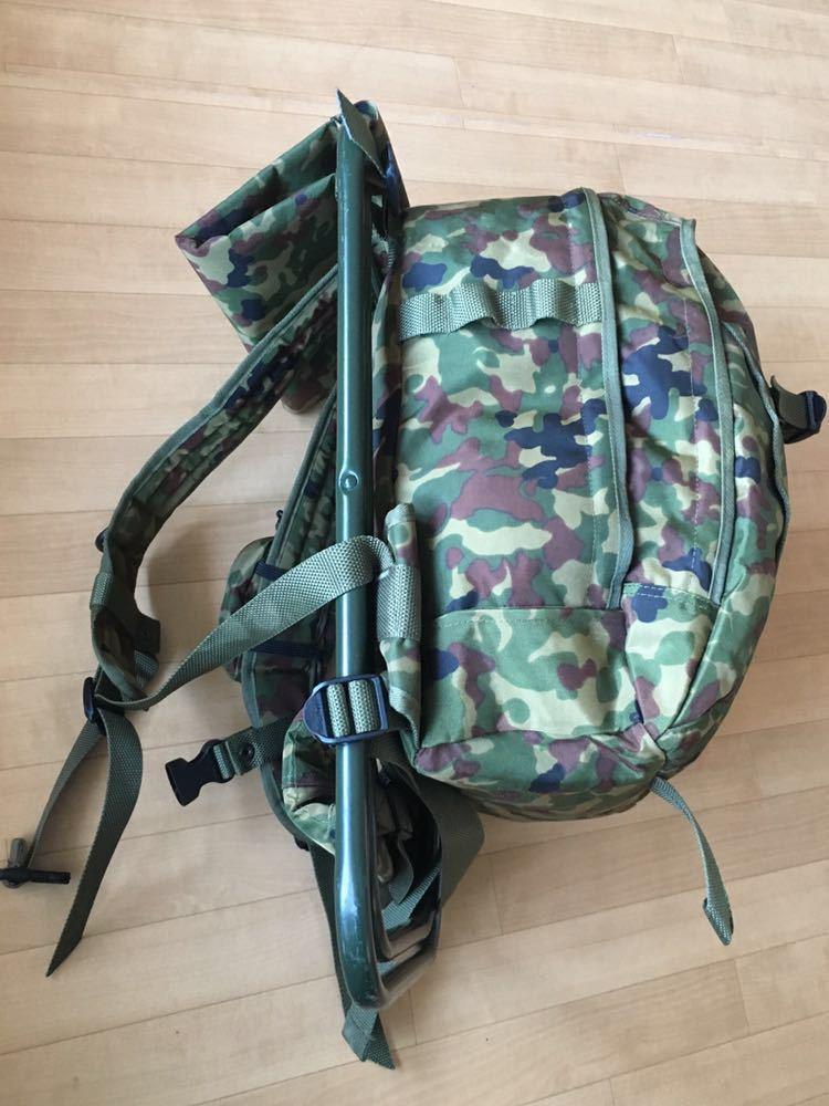 陸上自衛隊 スツールディパック 椅子付きリュックサック 登山 サバゲー 自衛隊装備 リュック ディパック_画像7