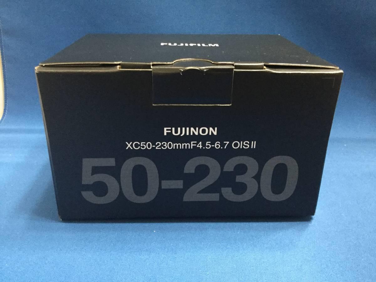 新品 XC50-230mmF4.5-6.7 OIS Ⅱ 色:ブラック 富士フィルム 未使用品