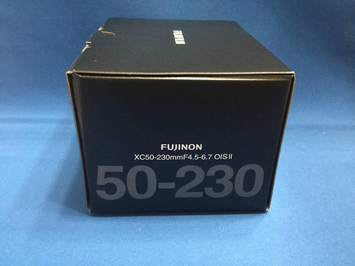 新品 XC50-230mmF4.5-6.7 OIS Ⅱ 色:ブラック 富士フィルム 未使用品_画像2