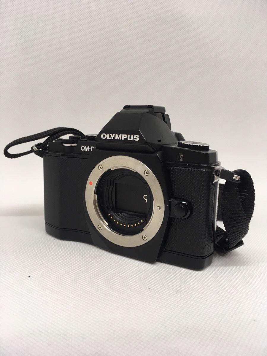OLYMPUS オリンパス OM-D E-M5 BLACK ブラック ダブルズームキット_画像3