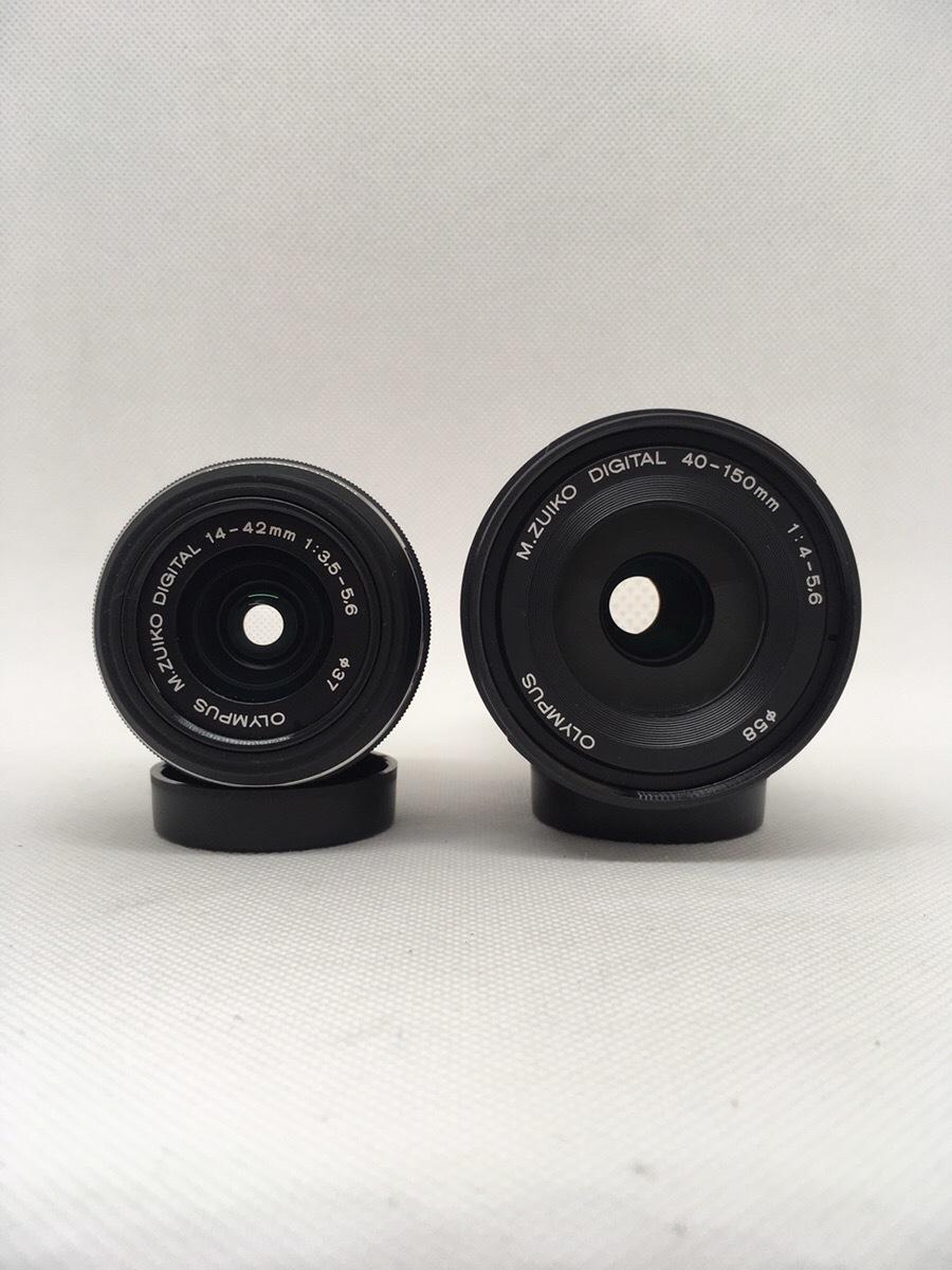 OLYMPUS オリンパス OM-D E-M5 BLACK ブラック ダブルズームキット_画像5