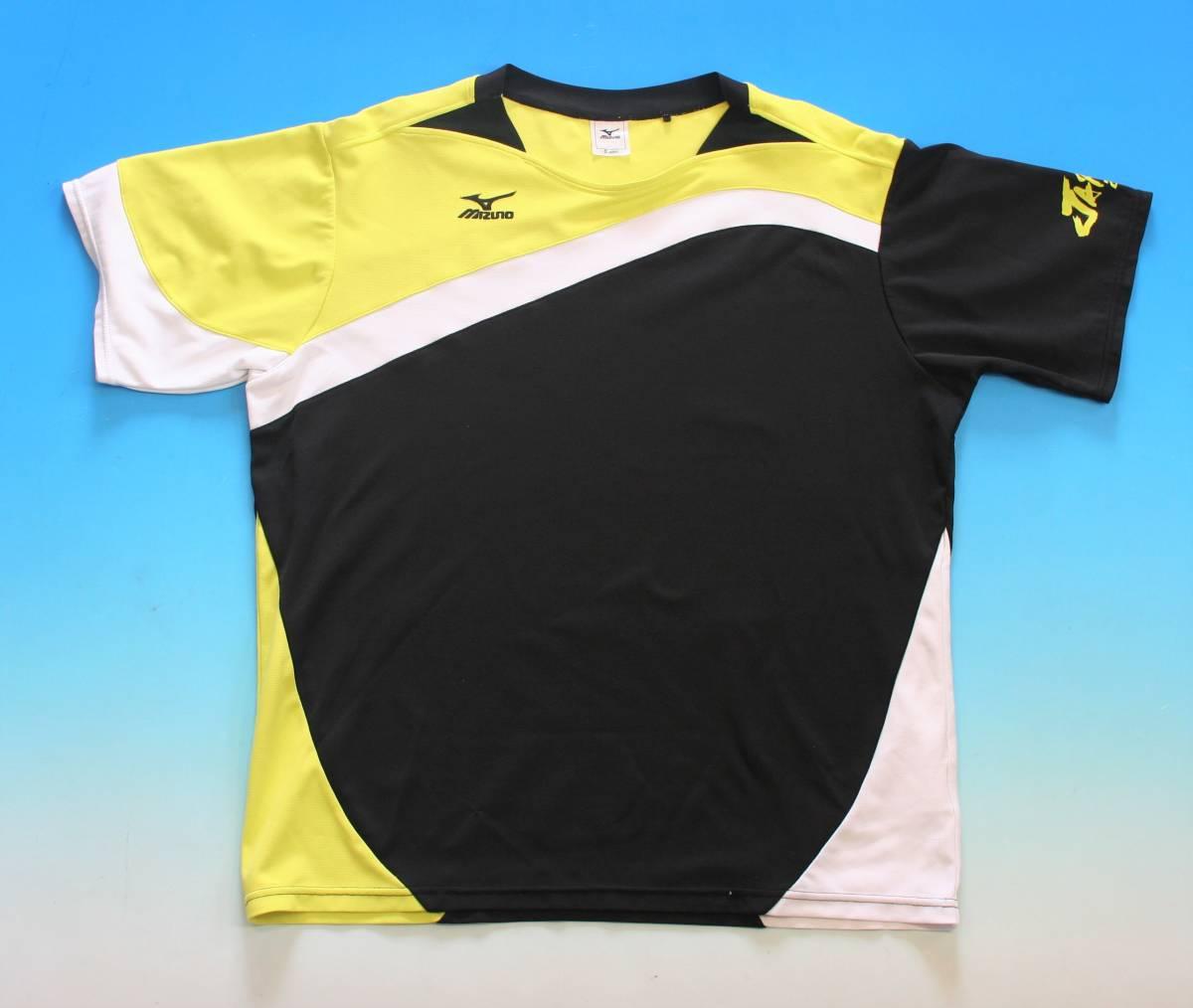 非売品★ MIZUNO(ミズノ)ソフトテニス日本代表 JAPAN ゲームシャツ(レッド)+プラシャツの2枚組_画像6