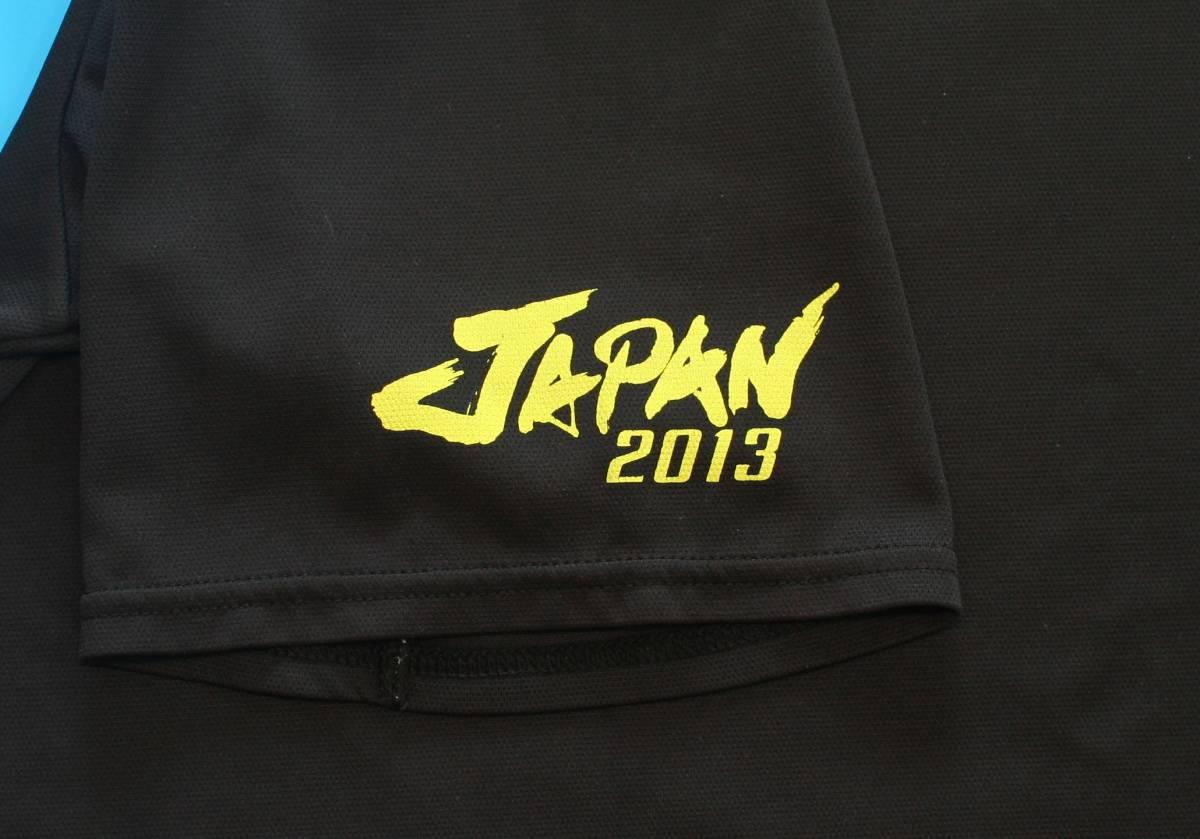 非売品★ MIZUNO(ミズノ)ソフトテニス日本代表 JAPAN ゲームシャツ(レッド)+プラシャツの2枚組_画像9
