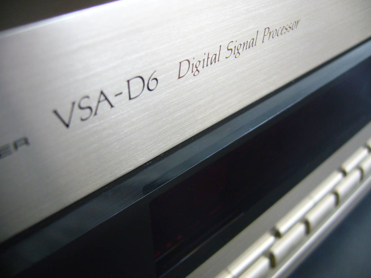 Pioneer パイオニア AVアンプ VSA-D6【美品】ゴールド_画像3