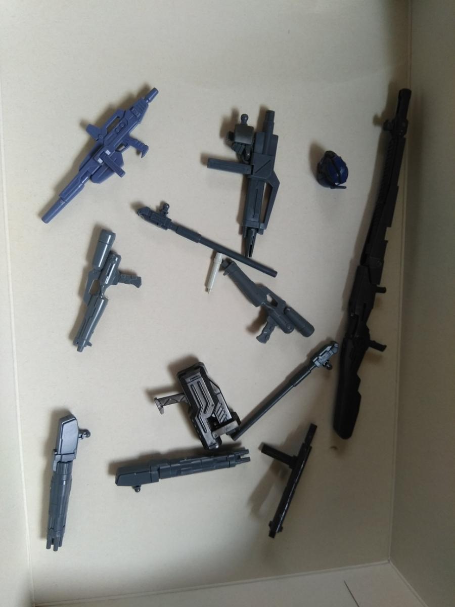 HGUC 1/144 素組完成品 ジャンクセット 同梱可 定形外郵便発送可 グスタフカール向け大型武器_画像3