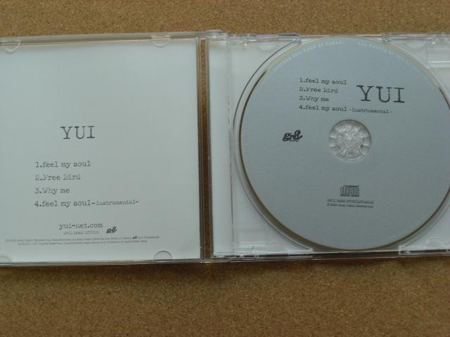 *YUI/feel my soul(SRCL5880)(日本盤)_画像2