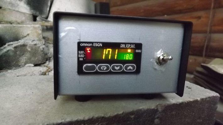 陶芸窯用 デジタル温度計 E5GN