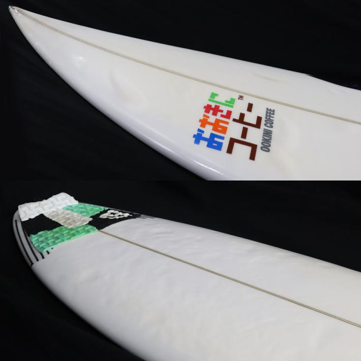 """【中古】SHARPEYE SURFBOARDS シャープアイサーフボード HOLY TOLEDO ホーリートレド 5'0"""" 17L キッズサーフボード  送料無料! _画像2"""
