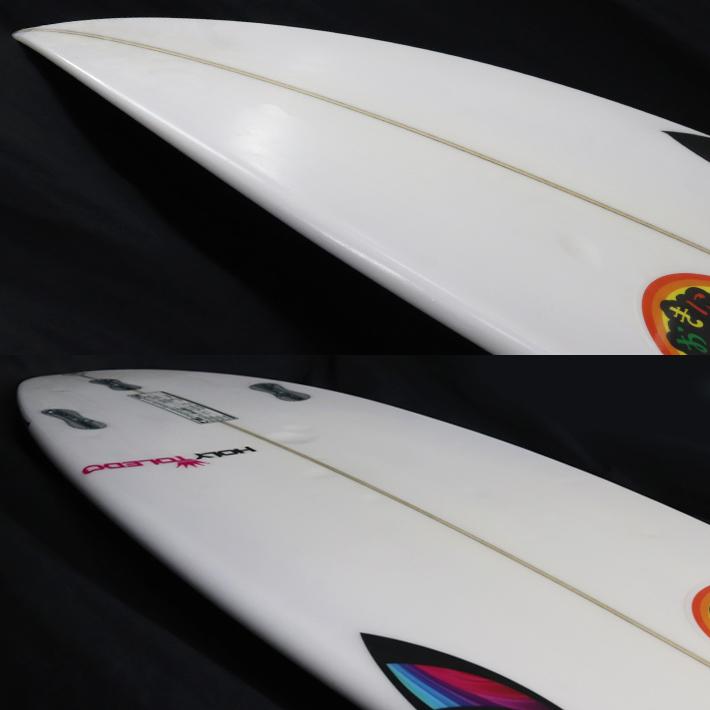 """【中古】SHARPEYE SURFBOARDS シャープアイサーフボード HOLY TOLEDO ホーリートレド 5'0"""" 17L キッズサーフボード  送料無料! _画像3"""