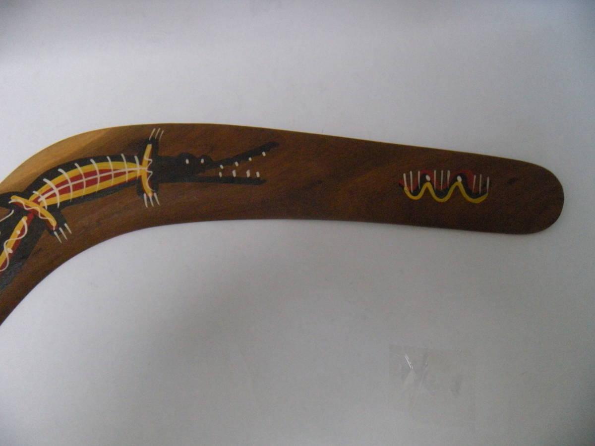 ☆木製ブーメラン【MADE IN AUSTRALIA】木製ハンドメイド/コレクション/観賞/展示♪_画像4