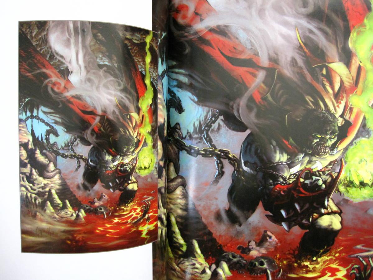 絶版 The Art of Greg Capullo / Greg Capullo : グレッグ・カプロ / 『クエーサー』『x-フォース』『スポーン』_画像2