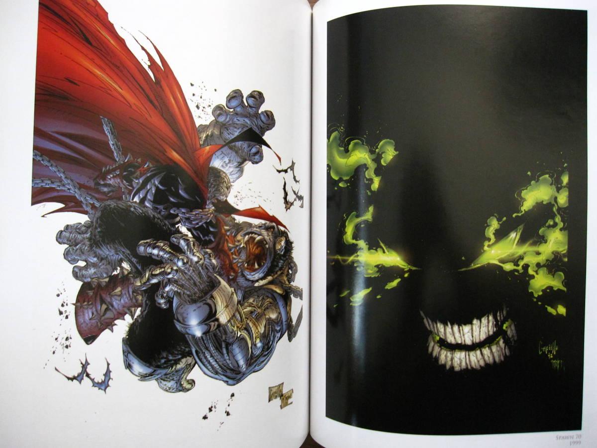 絶版 The Art of Greg Capullo / Greg Capullo : グレッグ・カプロ / 『クエーサー』『x-フォース』『スポーン』_画像6