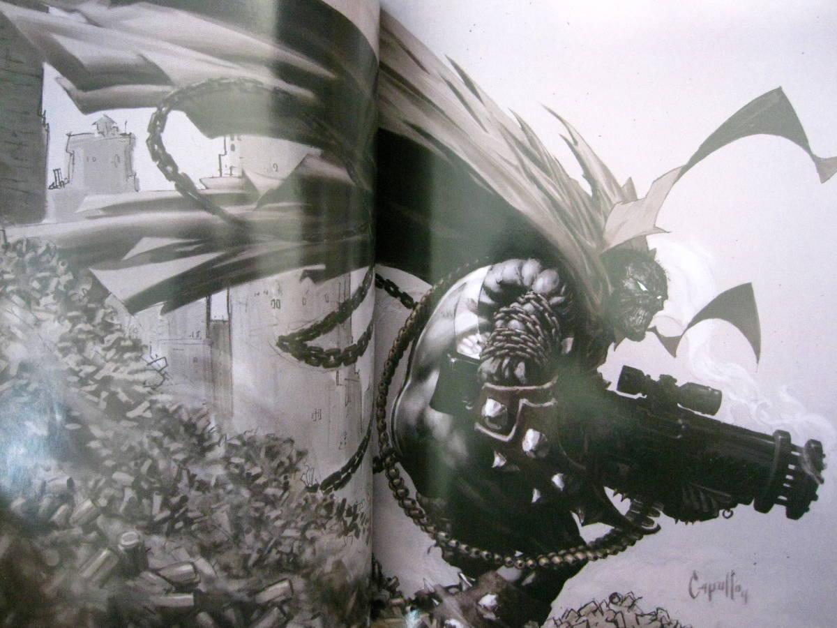 絶版 The Art of Greg Capullo / Greg Capullo : グレッグ・カプロ / 『クエーサー』『x-フォース』『スポーン』_画像7
