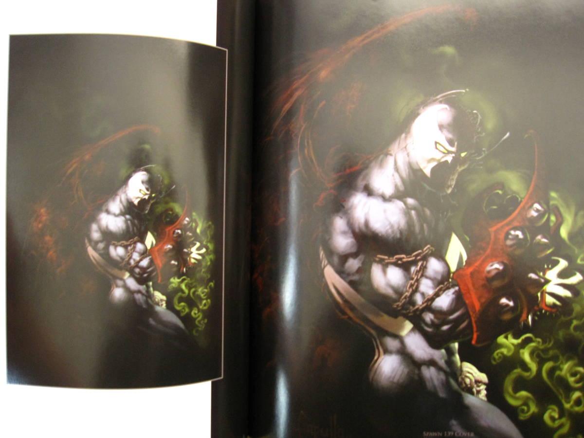 絶版 The Art of Greg Capullo / Greg Capullo : グレッグ・カプロ / 『クエーサー』『x-フォース』『スポーン』_画像9