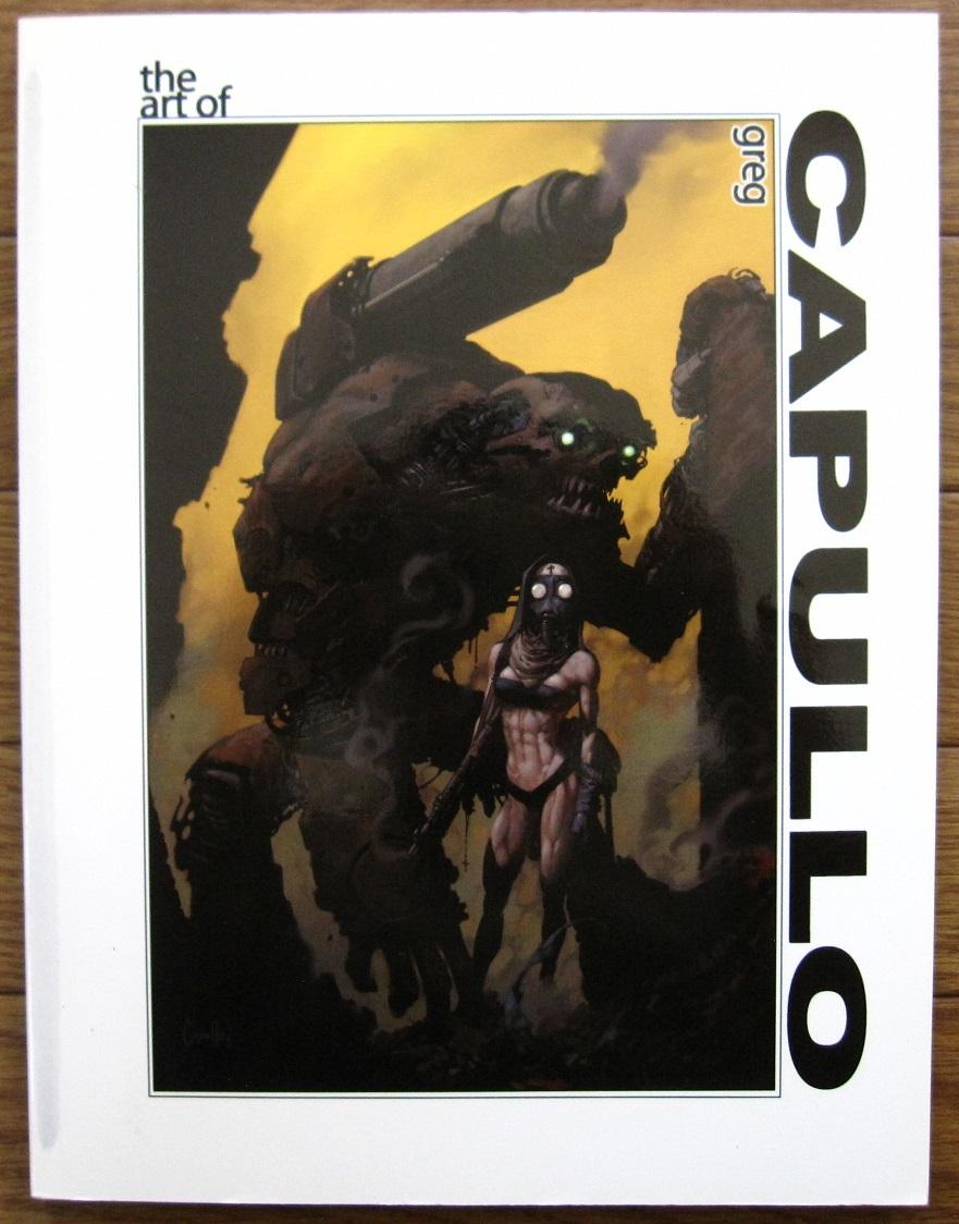 絶版 The Art of Greg Capullo / Greg Capullo : グレッグ・カプロ / 『クエーサー』『x-フォース』『スポーン』_画像1