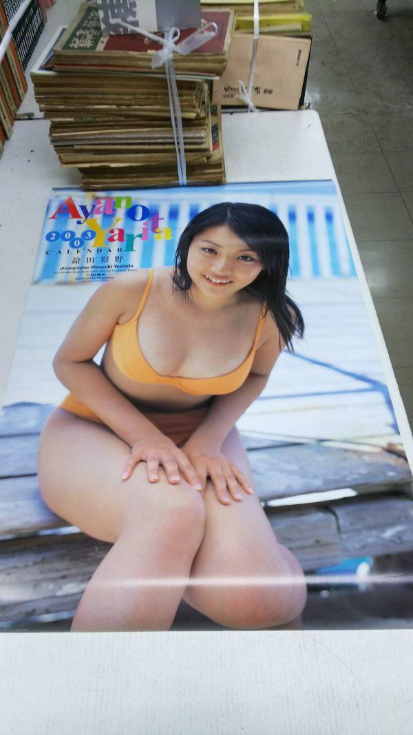 立花彩野(鎗田彩野) 2003年 カレンダー 未使用品