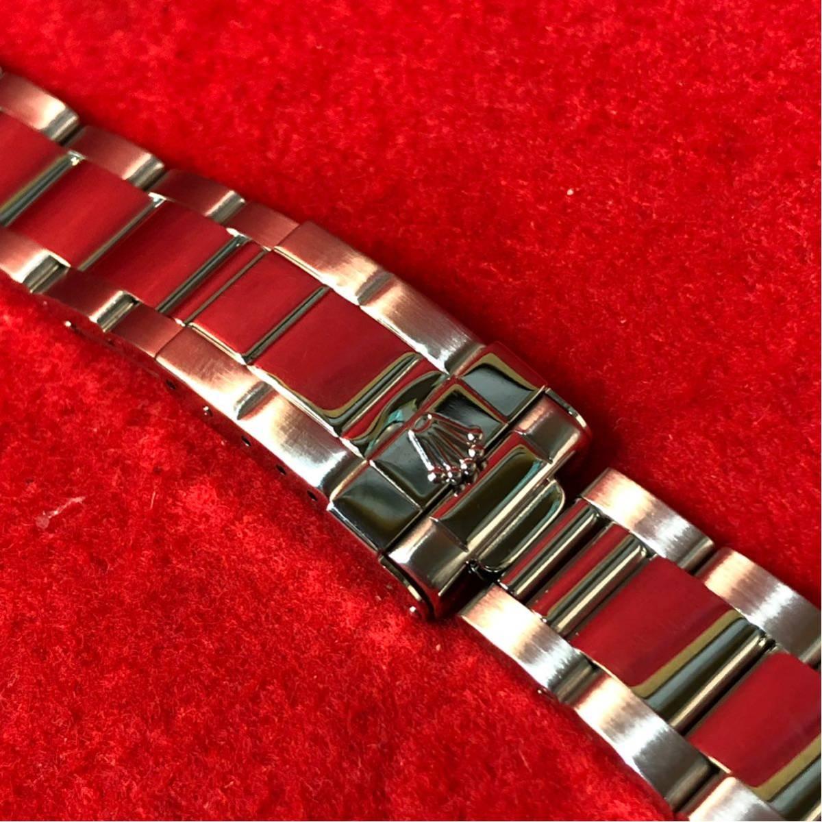 【美品】ROLEX ロレックス 純正 1650 デイトナ用 ブレスレット 最終期 78390/803B 1999年~2000年 5+7コマ 12コマ 腕時計 メンズ_画像3