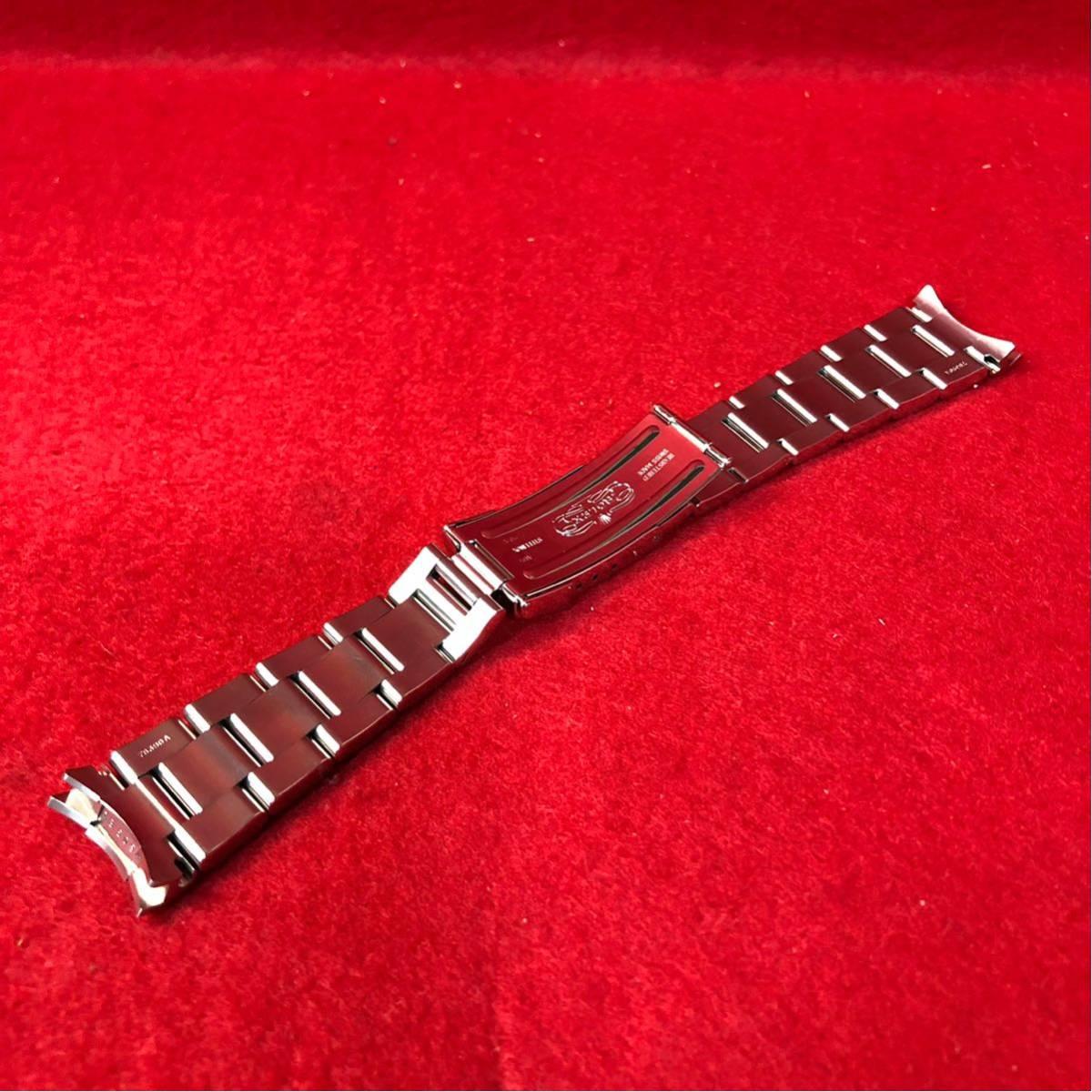 【美品】ROLEX ロレックス 純正 1650 デイトナ用 ブレスレット 最終期 78390/803B 1999年~2000年 5+7コマ 12コマ 腕時計 メンズ_画像2