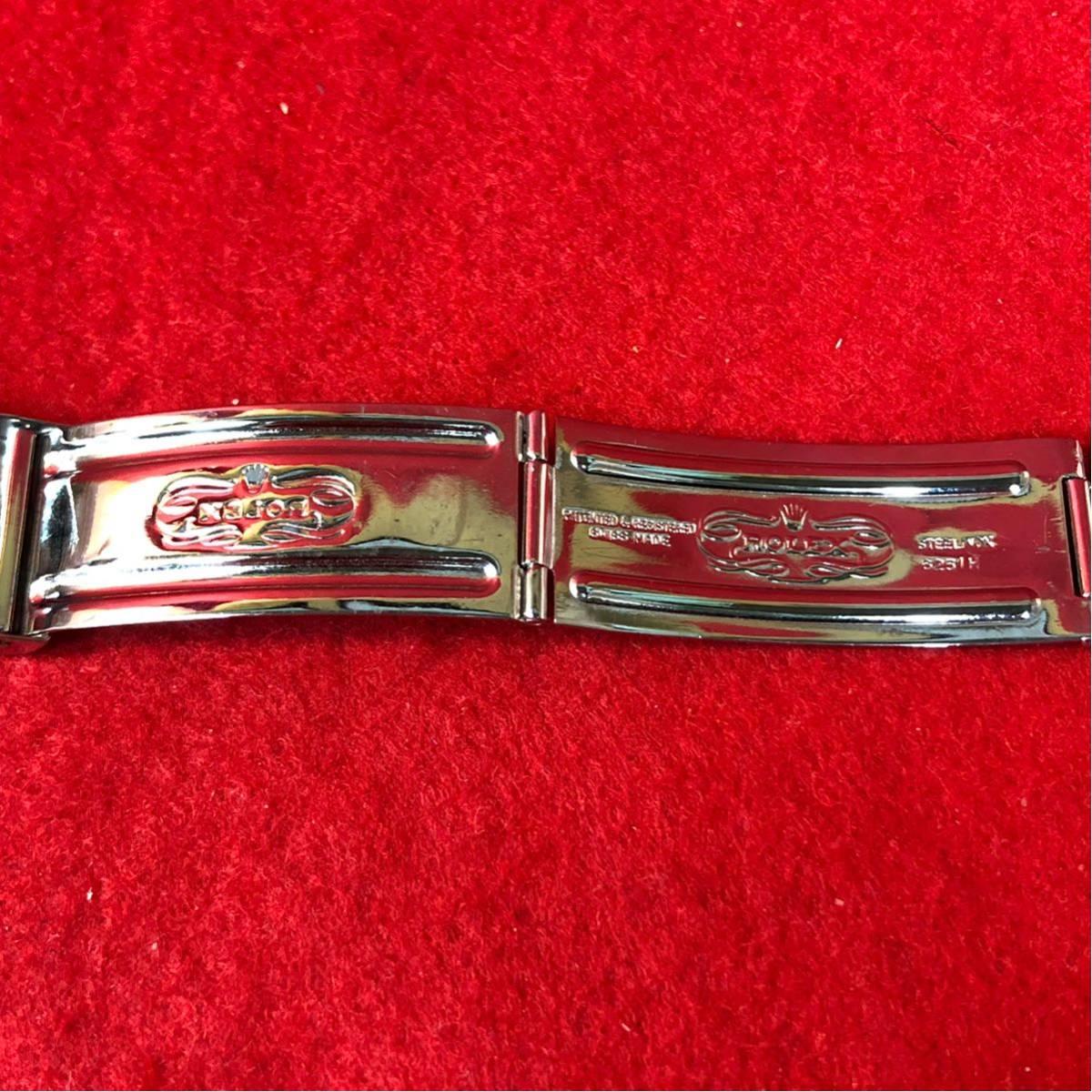 60000円~【美品】ROLEX ロレックス 純正 20mm 巻き ジュビリーブレス 6251H/FF55 メンズ 腕時計 ベルト パーツ 部品_画像5