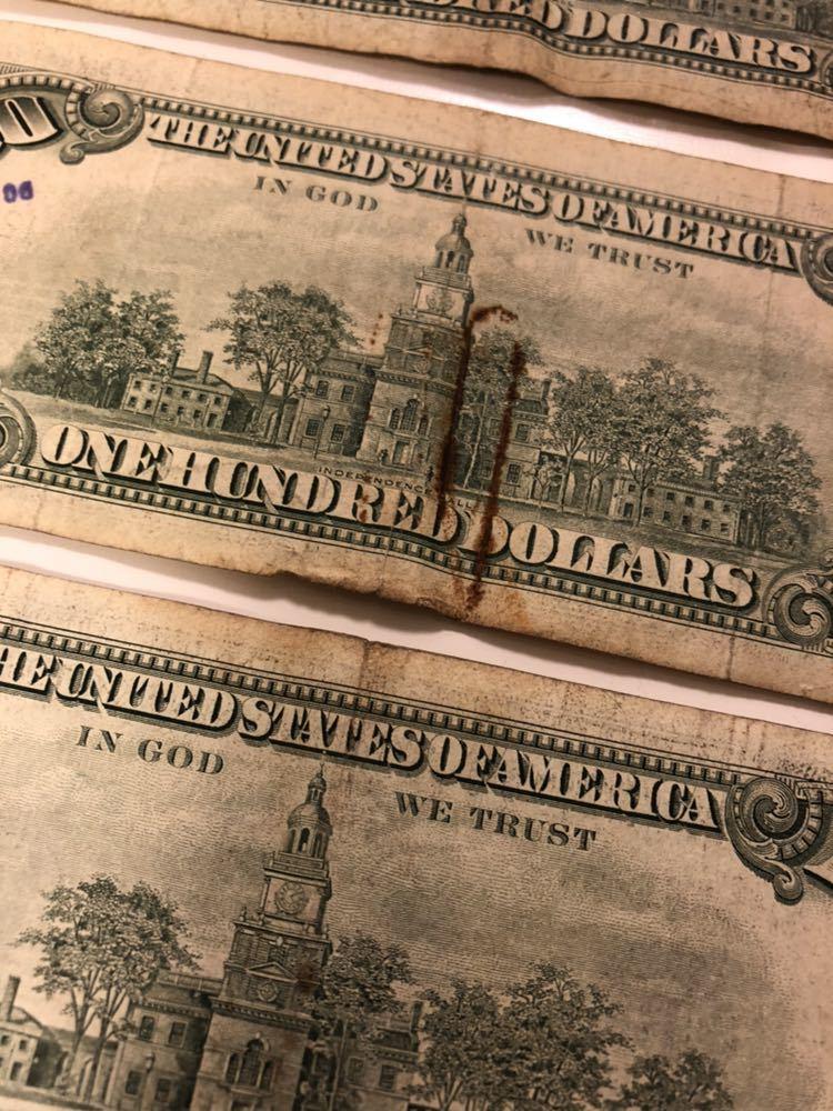 アメリカ 旧紙幣 505ドル分 _画像5