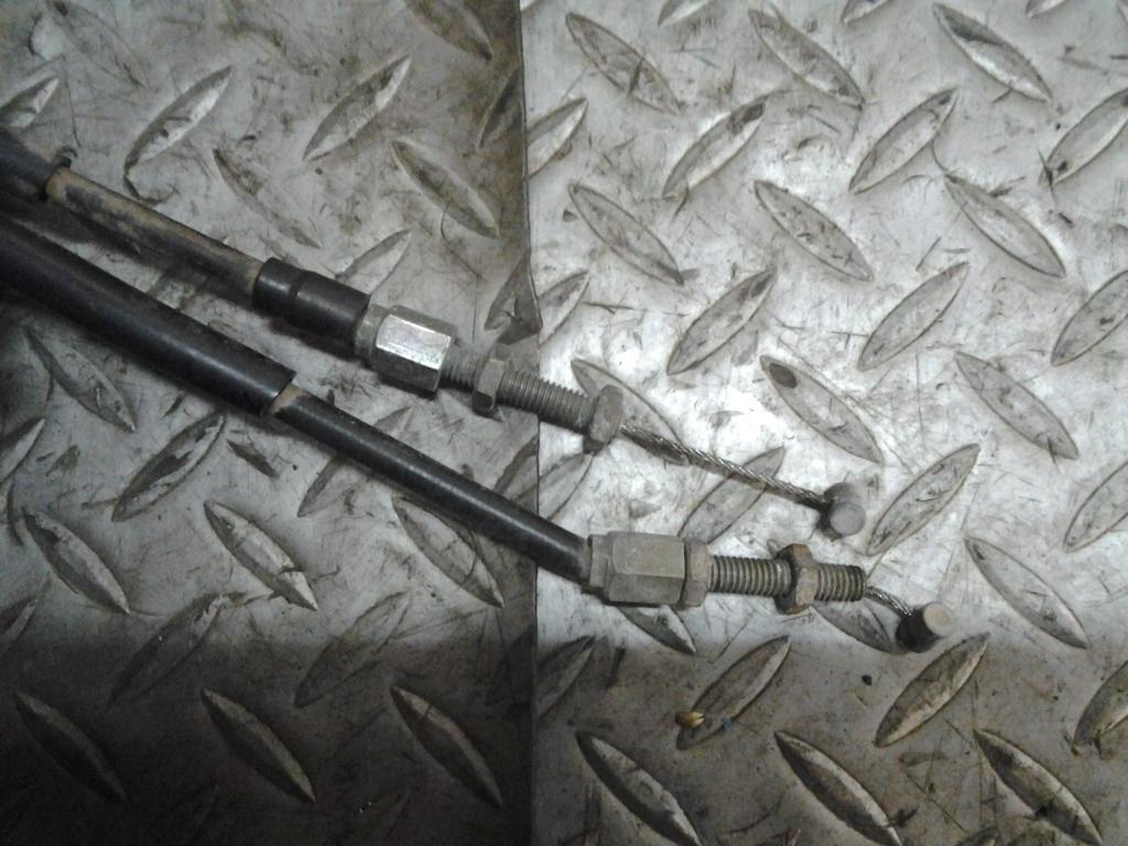 ヤマハ TW200 2JL 純正 ハンドル スイッチ 右 スロットル ワイヤー 在庫処分 値下げ 検索 G-11 YAMAHA セロー TW225 DG07J DG09J_画像6