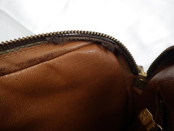 1円~ ジャンク品 LOUIS VUITTON ルイ・ヴィトン モノグラム マルリー ドラゴンヌ セカンドバッグ クラッチバッグ_画像9