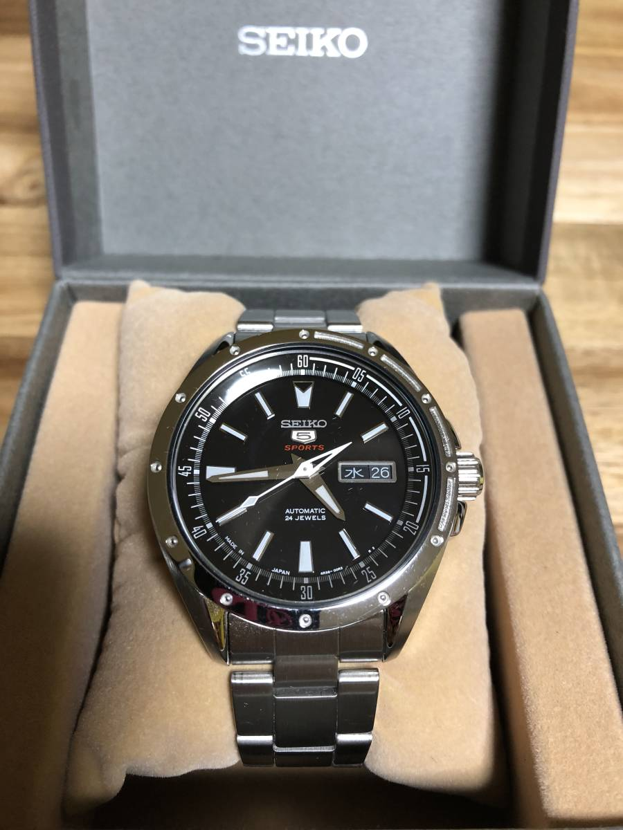 SEIKO セイコー5SPORTS SARZ005 メンズ腕時計 自動巻き
