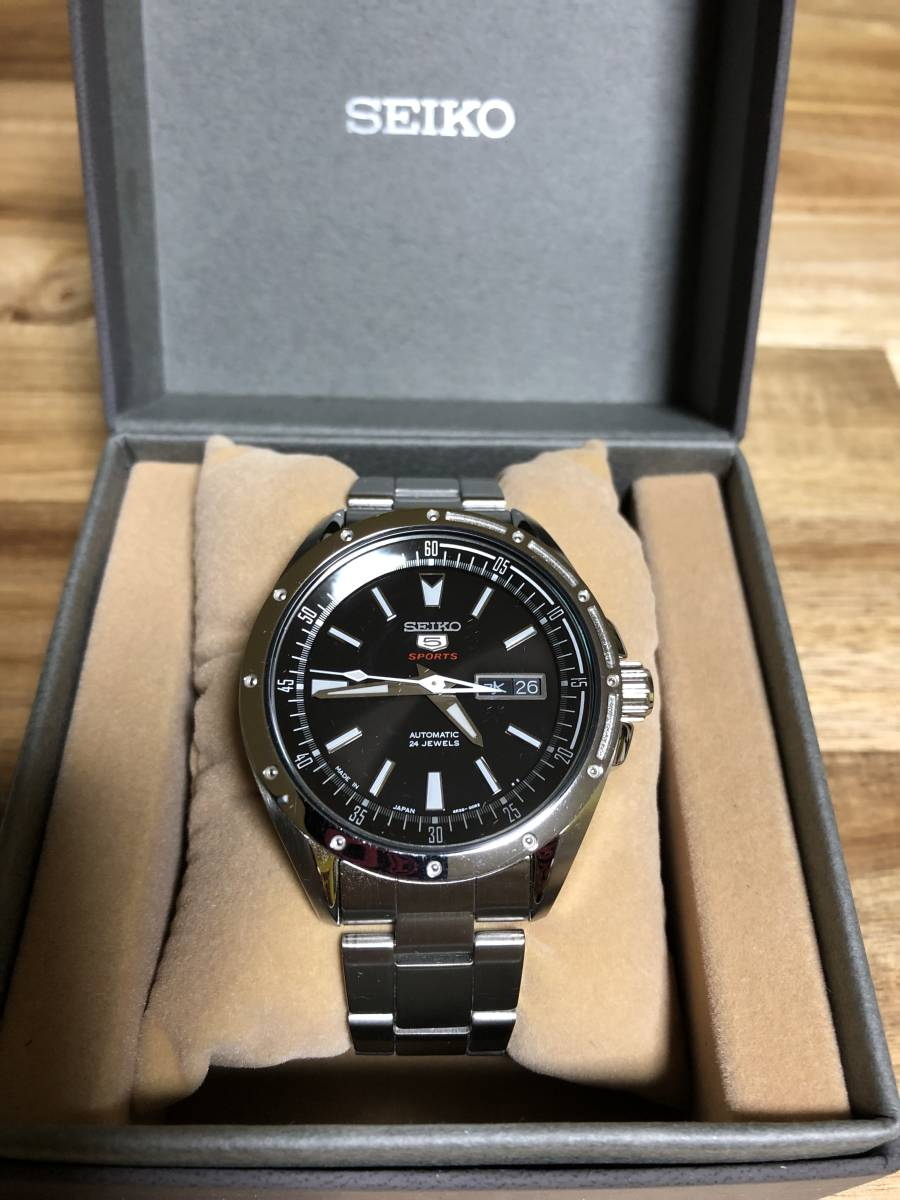 SEIKO セイコー5SPORTS SARZ005 メンズ腕時計 自動巻き_画像2