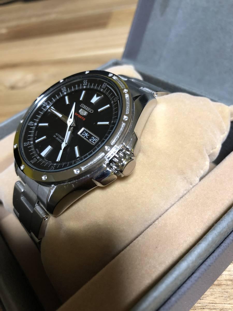 SEIKO セイコー5SPORTS SARZ005 メンズ腕時計 自動巻き_画像4
