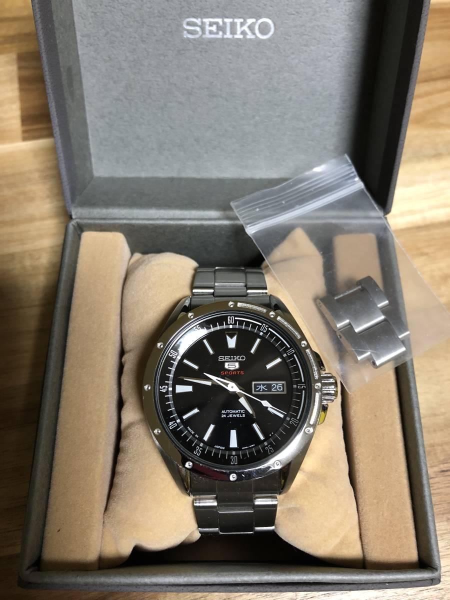 SEIKO セイコー5SPORTS SARZ005 メンズ腕時計 自動巻き_画像7