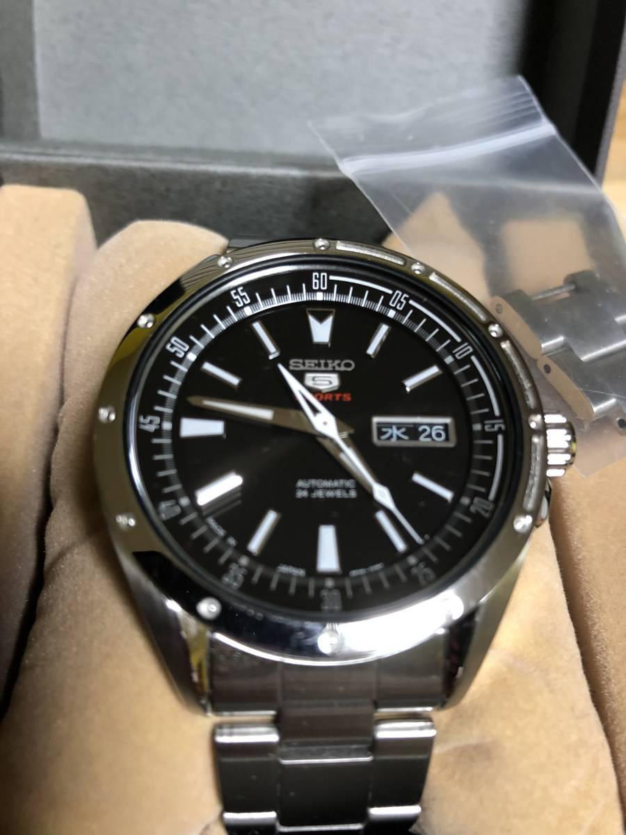 SEIKO セイコー5SPORTS SARZ005 メンズ腕時計 自動巻き_画像8