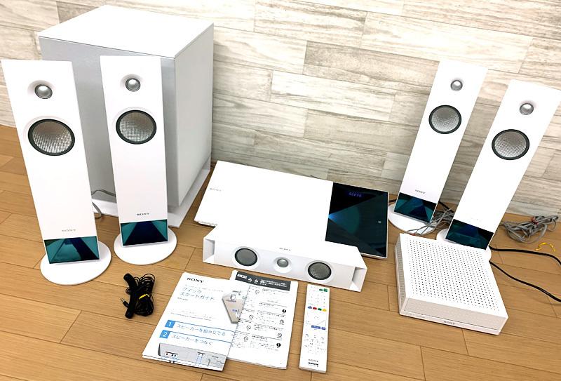 ★SONY BDV-N1WL 5.1ch ホームシアターセット ブルーレイ Bluetooth ソニー★_画像2