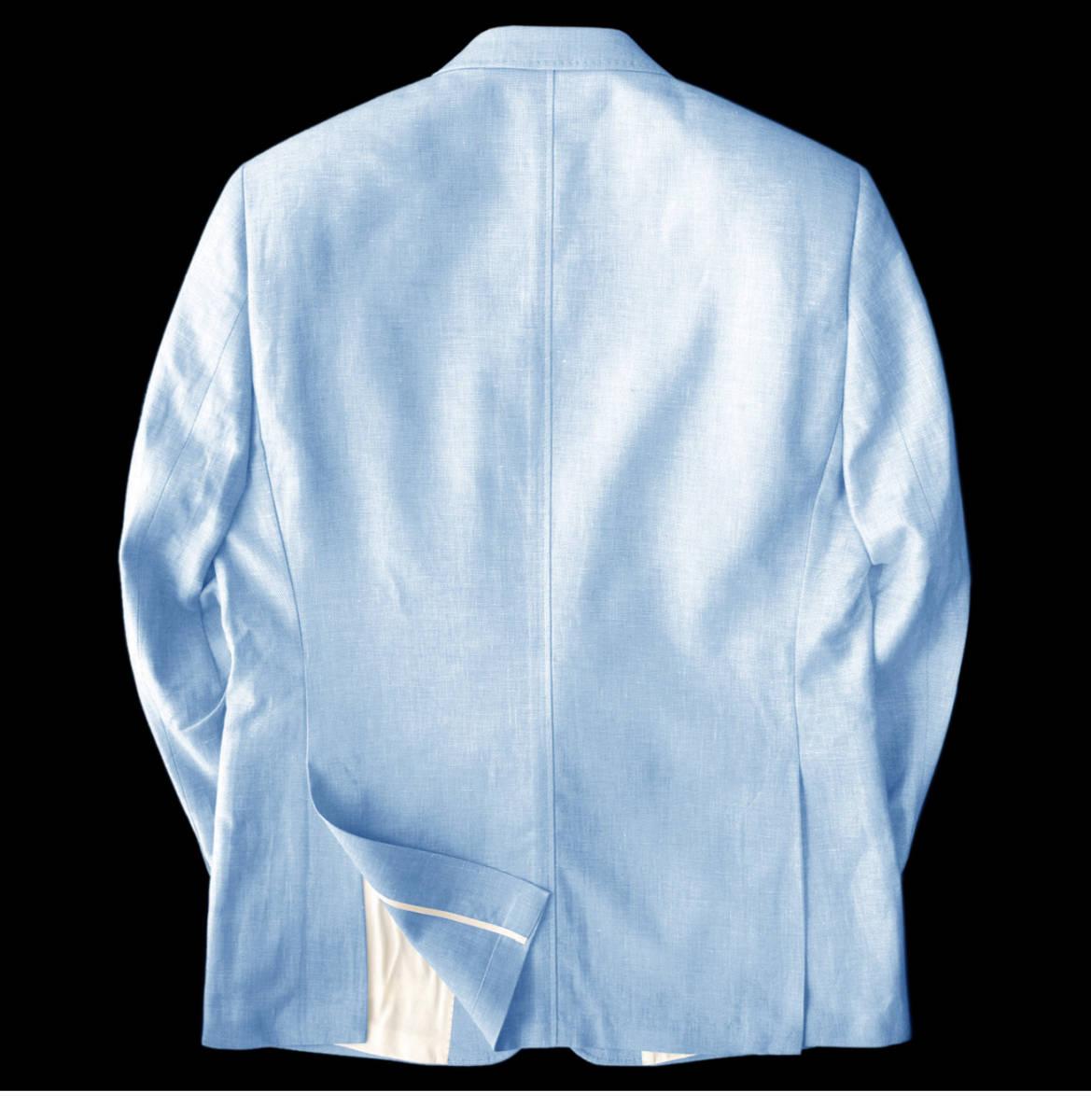 ◆新品 本物◆MOSS 1851 2釦 ジャケット 7万8千円 ◆◆ 麻 & コットン素材 ◆◆_画像2