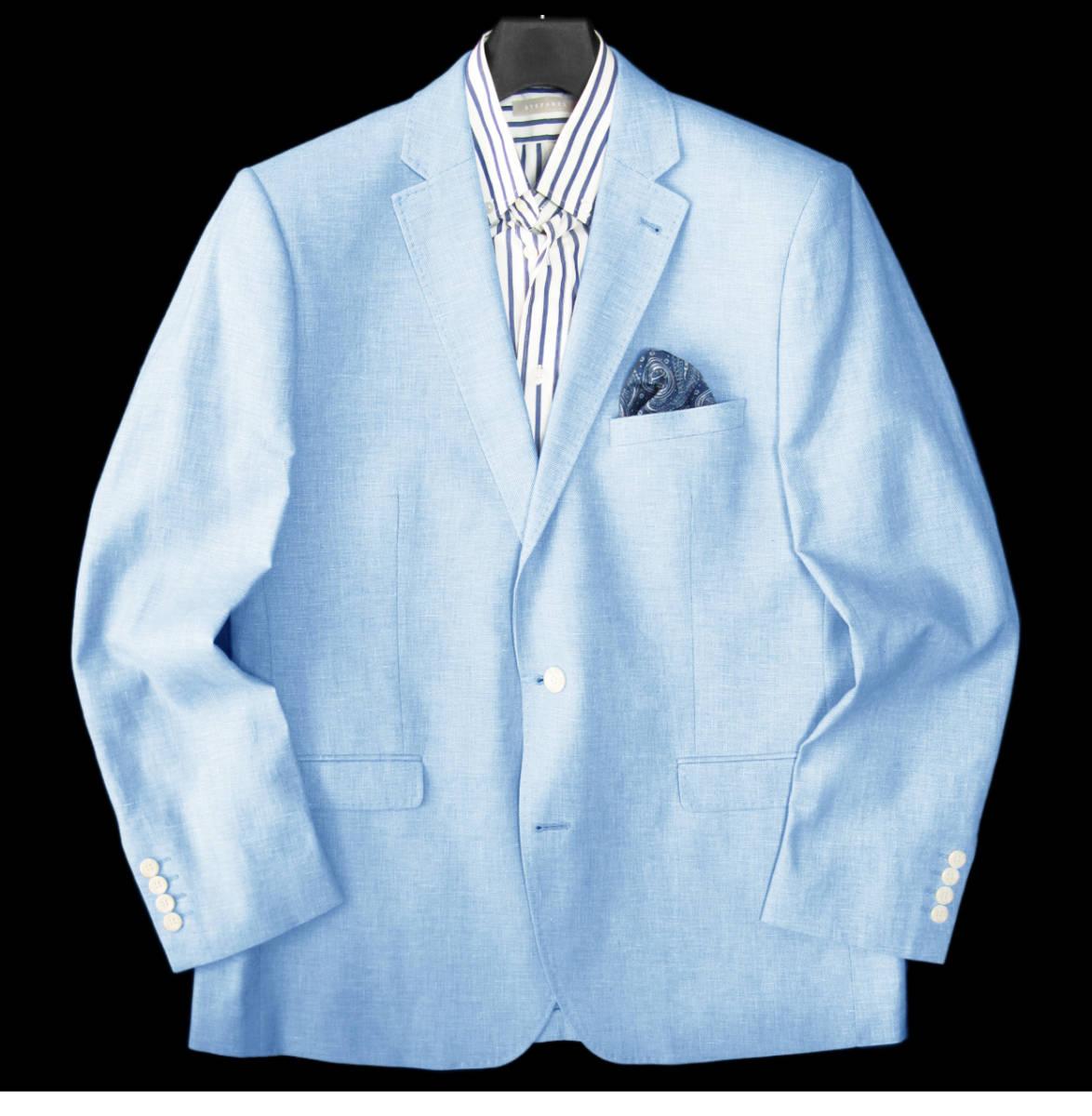 ◆新品 本物◆MOSS 1851 2釦 ジャケット 7万8千円 ◆◆ 麻 & コットン素材 ◆◆