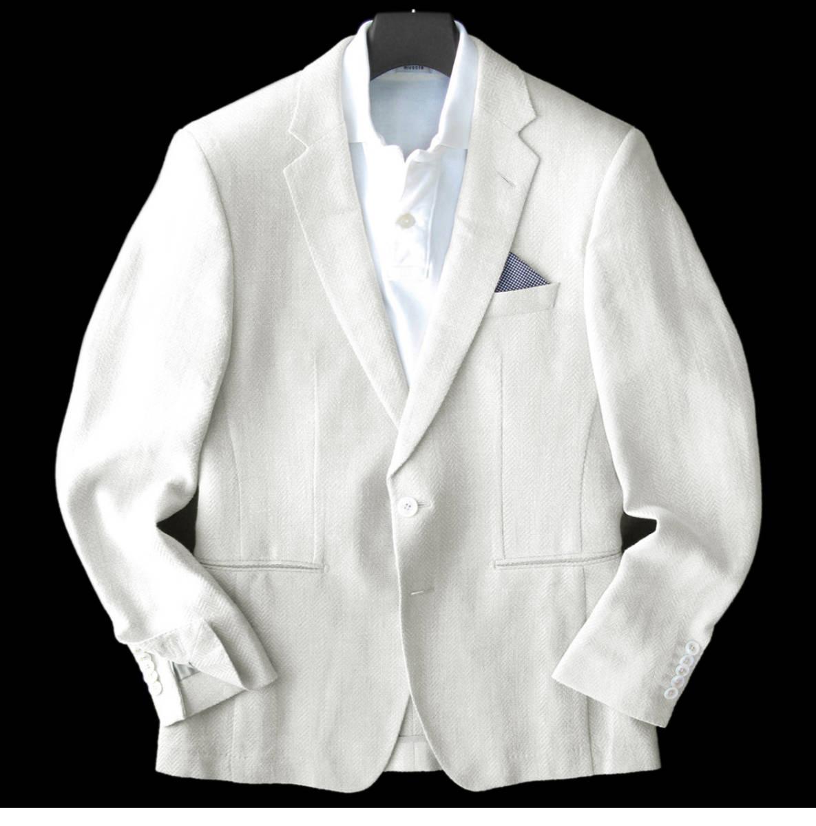◆新品 本物◆HUGO BOSS 2釦 ジャケット 14万円 ◆◆ イタリア製 ピアチェンツァ 高級服地使用 ◆◆