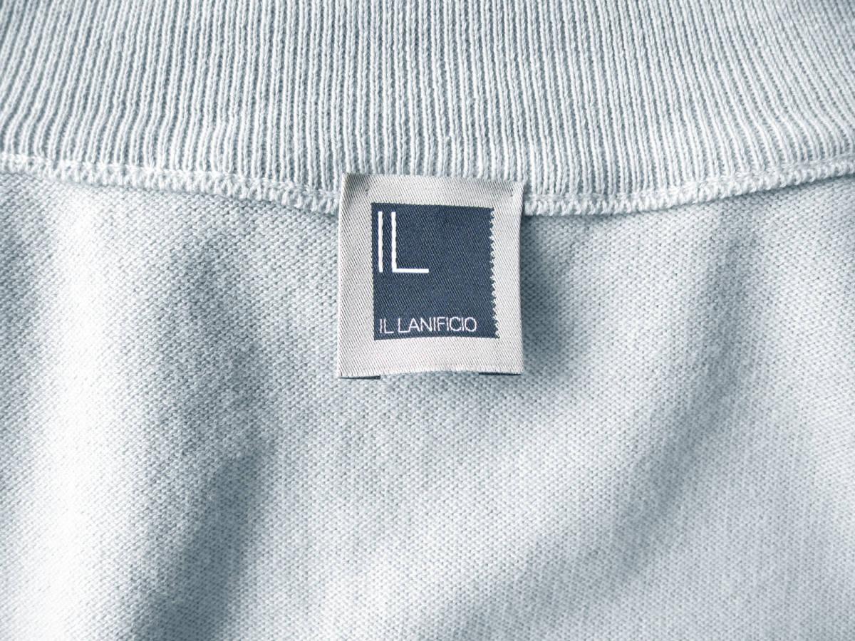 ◆新品 本物◆IL LANIFICIO イタリア製! ジップアップ ブルゾン ◆◆ ストレッチ コットン素材 ◆◆_画像3