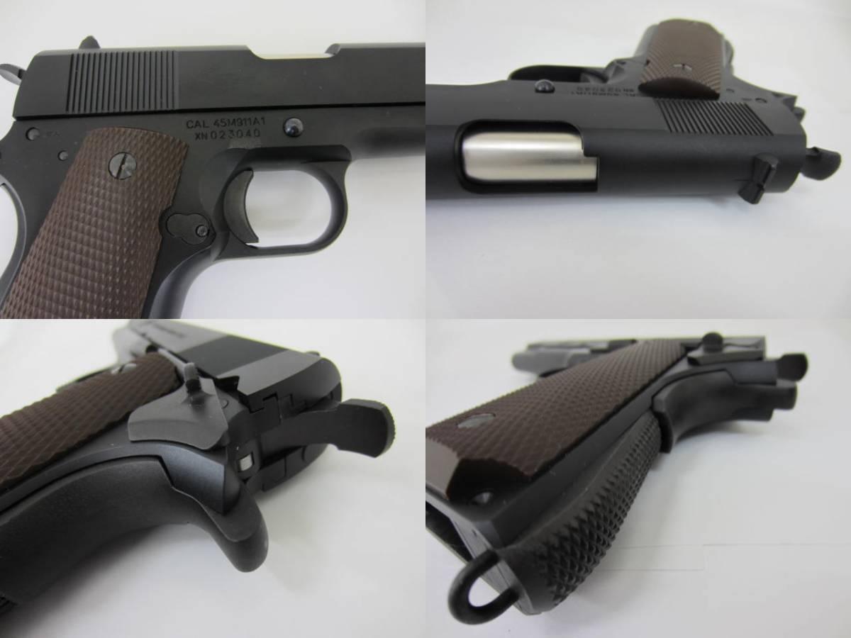 *ガスガン 1000丁限定 M911 ロベルタのハンドガン ブラック・ラグーン KSCコーポレーション_画像7