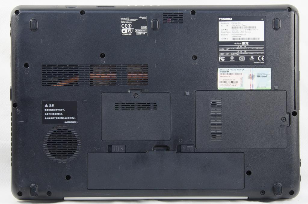 ★ジャンク★東芝 dynabook EX/55LWH★Intel Core i3 M330 2.13GHz/無線 /DVD/1G_画像5