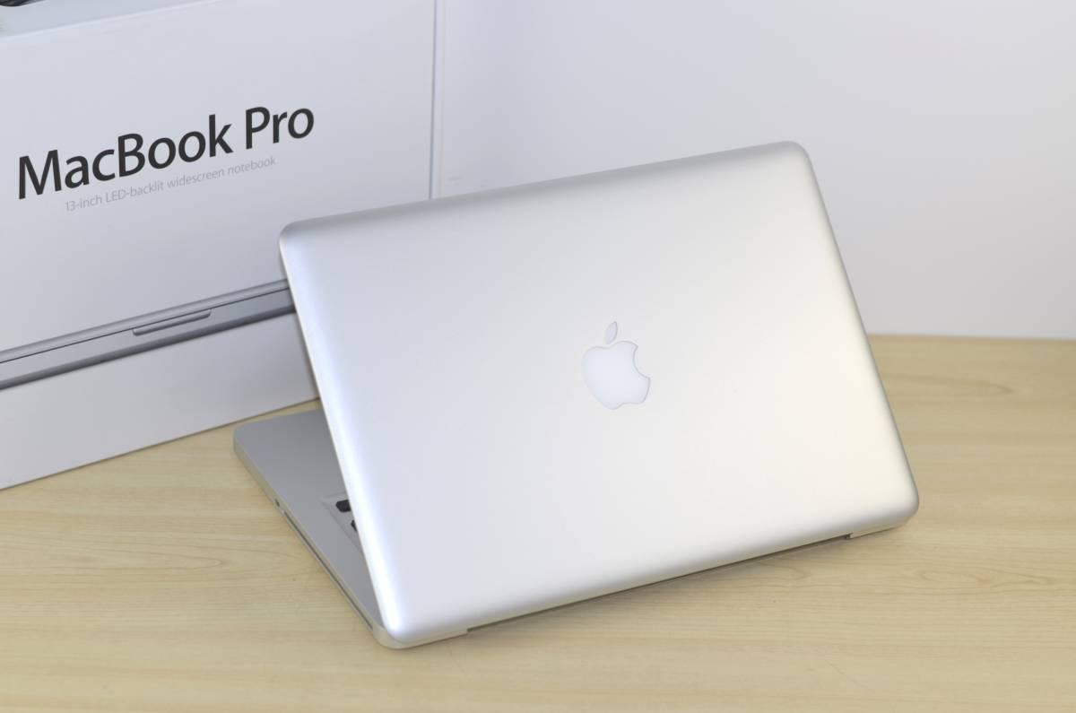 1円~おまけ付き!MacBook Pro (13-inch, Mid 2012)Core i5 メモリ:4GB HDD:500GB MD101J/A 充放電回数:24回 Magic Mouse付!転売OK_画像7